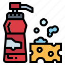 bottle, cleaner, liquid, soap icon