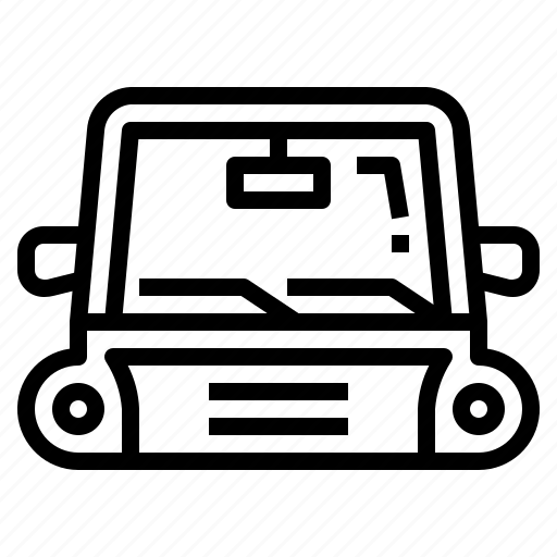 Transportation, window, windshield, wiper icon - Download on Iconfinder