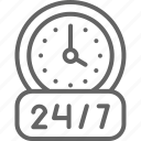 arrow, around, service, wash, round, clock, car