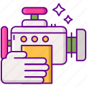 cleaning, engine, wash icon