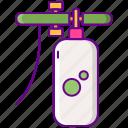 foam, gun, soap icon