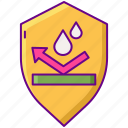 protection, rain, repellent icon
