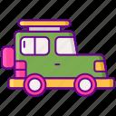 sport utility vehicle, suv, vehicle icon