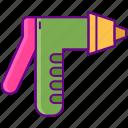 nozzle, spray, water icon