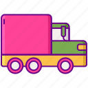 delivery, lorry, truck icon