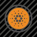 blockchain, cardano, coin, cryptocurrency icon