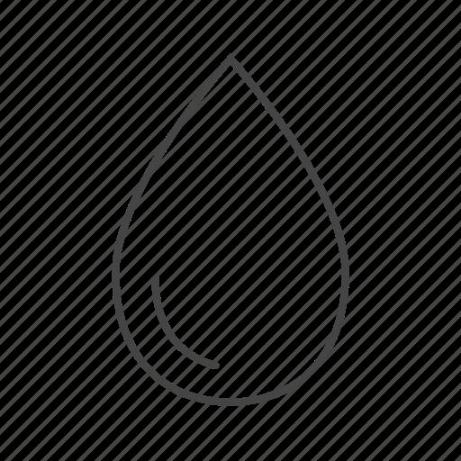 blood, drop, medical, saline, water icon