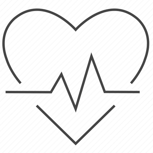 cardiac, health, heartbit, heartrate, medical icon