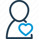 heart, heartbeat, hospital, man, medical, people, pulse icon