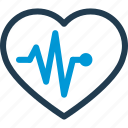 heart, heartbeat, hospital, medical, pulse icon