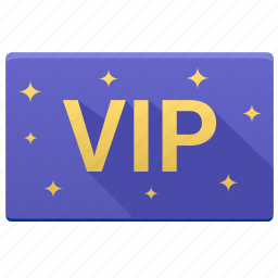 card, gold, important, person, vip, visit icon