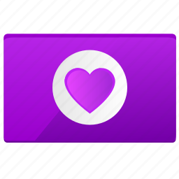 card, heart, love, st, valentine, visit icon