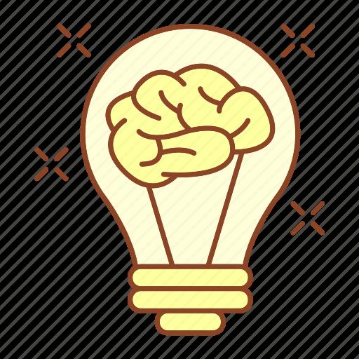 advancement, brain, business, career, idea, innovative, thinking icon