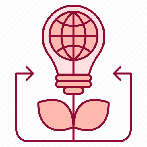 advancement, business, career, idea, innovative, plant, solutions icon