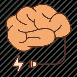 mind, power icon