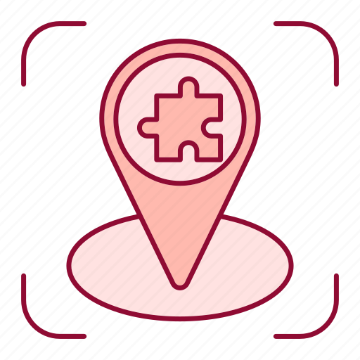 Advancement, business, location, pin, puzzle, traduire career, tutorship icon - Download on Iconfinder