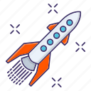 accelerate, career, growth, launch, rocket