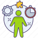 business, manager, project, strategy icon