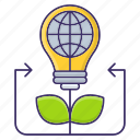growth, innovative, plant, solutions icon