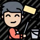 decorator, painter, interior, renovation, house