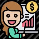 financial, advisor, marketing, business, report