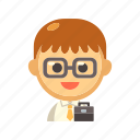 businessman, employee, occupation, office, worker icon