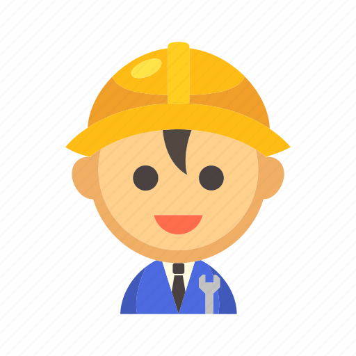 engineer, manufacturing, mechanical, technician, worker icon