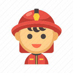 emergency, firefighter, fireman, helmet, protection, rescue icon