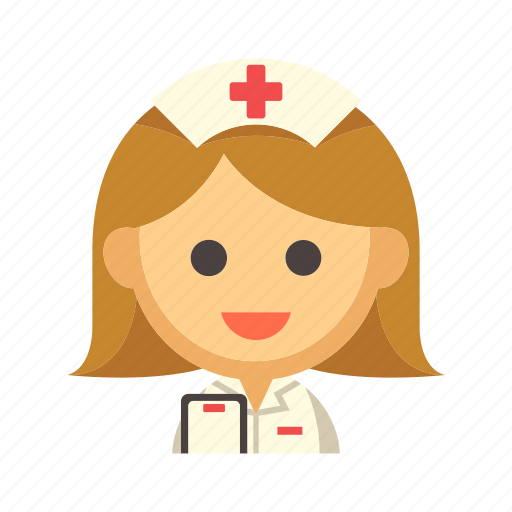 female, healthcare, hospital, medical, nurse, woman icon