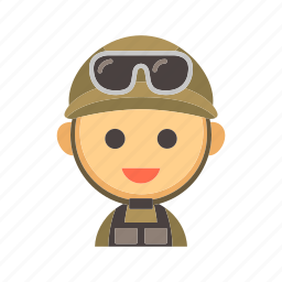 army, force, infantry, military, service, soldier, troops icon