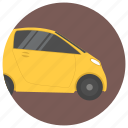 automobile, city car, hatchback, smart fortwo, smart vehicle icon