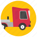 flatbed lorry, flatbed trailer, flatbed truck, logging truck, road truck icon