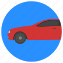 limousine, lincoln limo, luxury vehicle, sedan, stretch limo icon