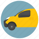 commercial vehicle, ford taxi, hybrid taxi, transport, yellow cab icon