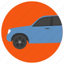 car, crossover, luxury crossover, suv car, utility vehicle icon