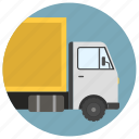 delivery truck, freight truck, goods wagon, refrigerated van, refrigerated wagon icon