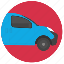 compact car, family auto, hatchback, small car, vehicle icon