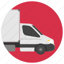 electric minibus, electric vehicle, minibus, transport, urban vehicle icon
