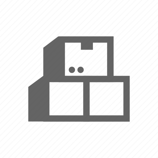 box, cargo, container, delivery, pack, package icon