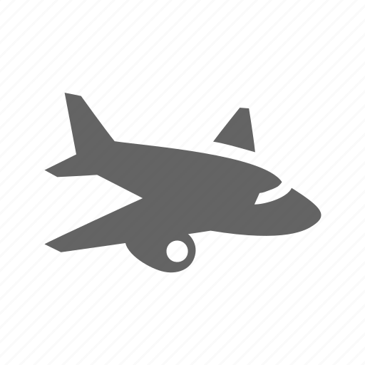 air, aircraft, airliner, airplane, airship, plane icon