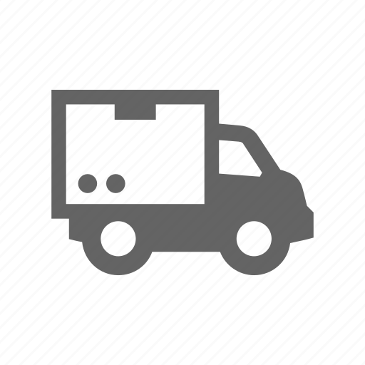 box, car, container, delivery, truck, van icon