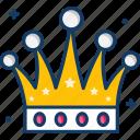 crown, gaming, monarchy, queen, royal icon