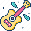 guitar, music, musical instrument, orchestra icon