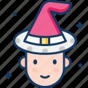 avatar, carnival, clown, fun, fun hat icon