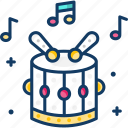 celebration, drum, drums, holiday, party icon
