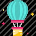 balloon, flight, holiday, hot air balloon, travel