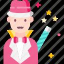 carnival, circus, magic, magician