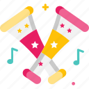carnival, music, musical instrument, vuvuzela