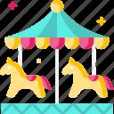 amusement park, carnival, carousel, fairground, kid and baby