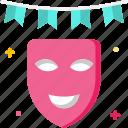 celebration, costume, face mask, party